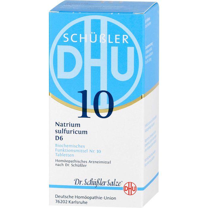 BIOCHEMIE DHU 10 Natrium sulfuricum D 6 Tabletten