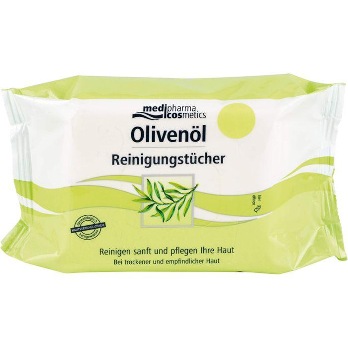 Medipharma Cosmetics OLIVENÖL Reinigungstücher