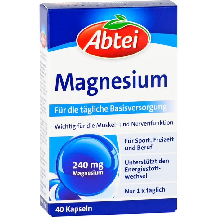 ABTEI Magnesium Kapseln