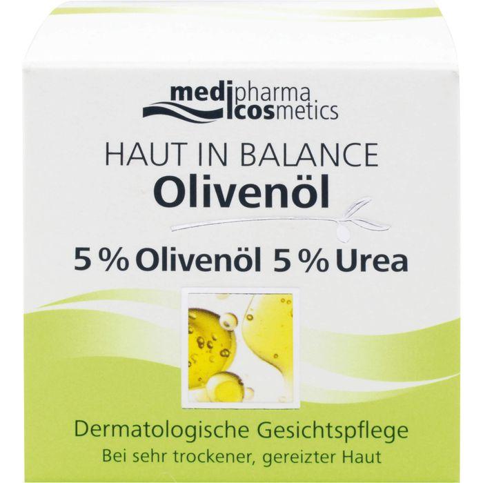Medipharma Cosmetics HAUT IN BALANCE Olivenöl Gesichtspflege 5%