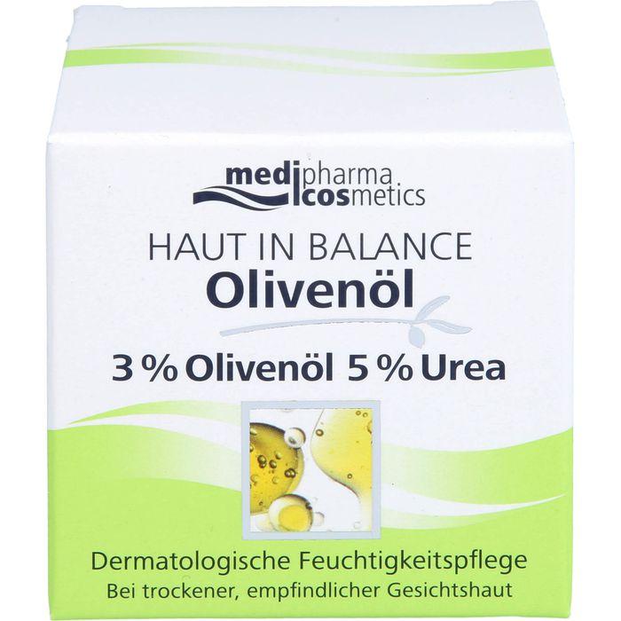 Medipharma Cosmetics HAUT IN BALANCE Olivenöl Feuchtigkeitspflege 3%
