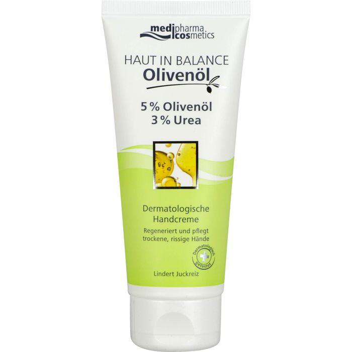 Medipharma Cosmetics HAUT IN BALANCE Olivenöl Handcreme 5%