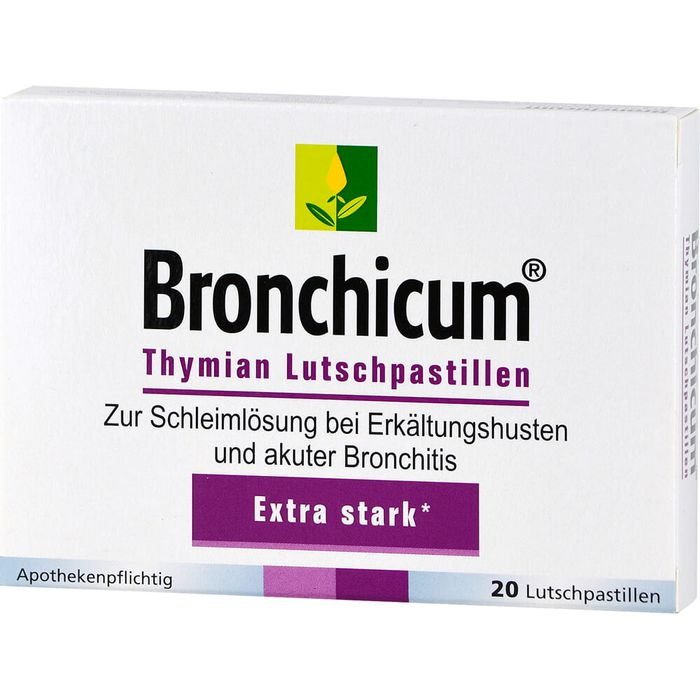 BRONCHICUM Thymian Lutschpastillen