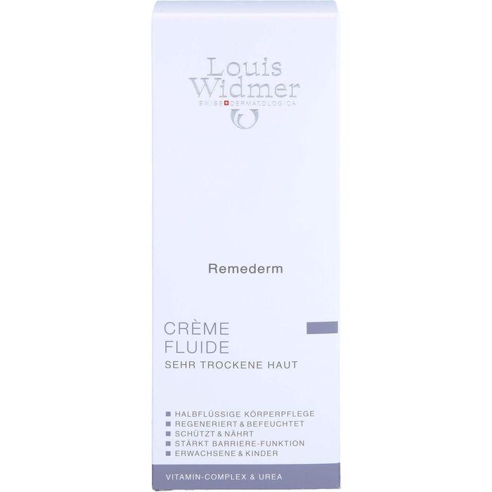 WIDMER Remederm Creme Fluide leicht parfümiert