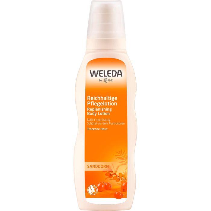 WELEDA Sanddorn reichhaltige Pflegelotion 200 ml