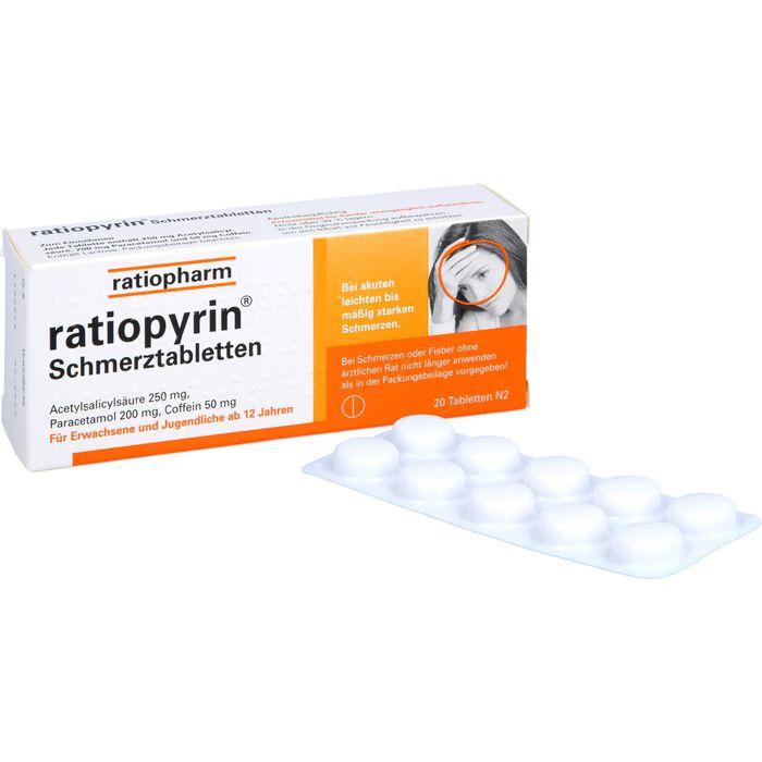 RATIOPYRIN Schmerztabletten
