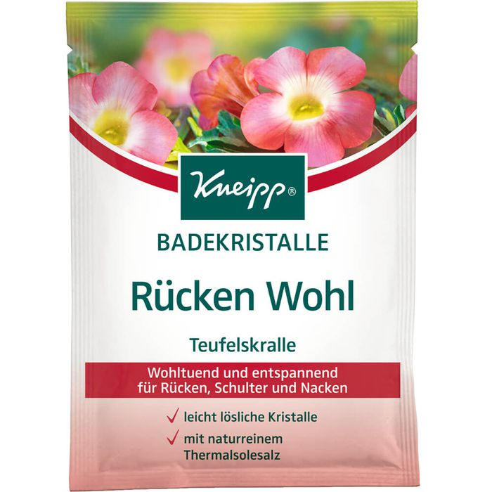 KNEIPP BADEKRISTALLE Rücken Wohl
