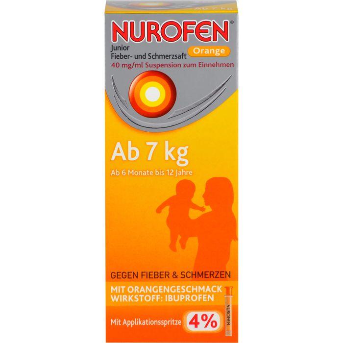 NUROFEN Junior Fieber-u.Schmerzsaft Oran.40 mg/ml