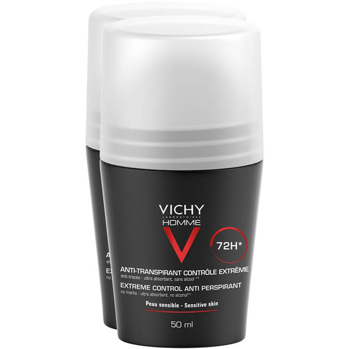 VICHY HOMME Deo Roll-on Anti Transpirant 72h Doppelpack