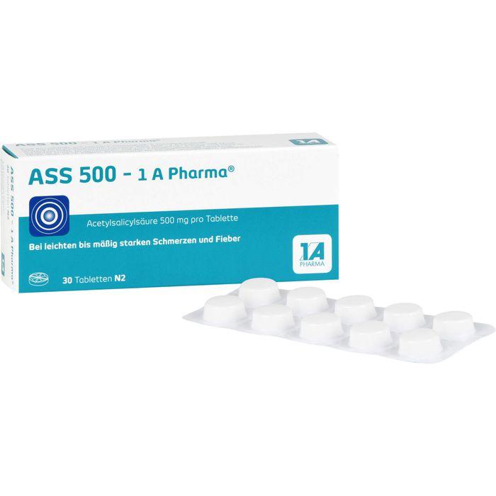 ASS 500-1A Pharma Tabletten