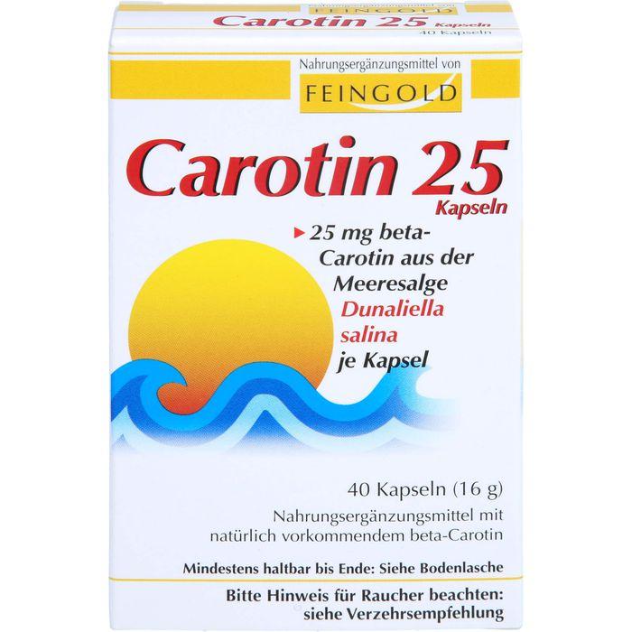 CAROTIN 25 Feingold Kapseln