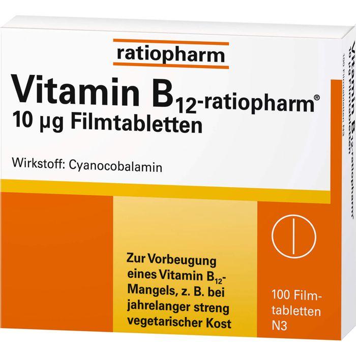 VITAMIN B12-RATIOPHARM 10 μg Filmtabletten