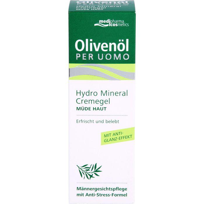 Medipharma Cosmetics OLIVENÖL Per Uomo Hydro Mineral Cremegel