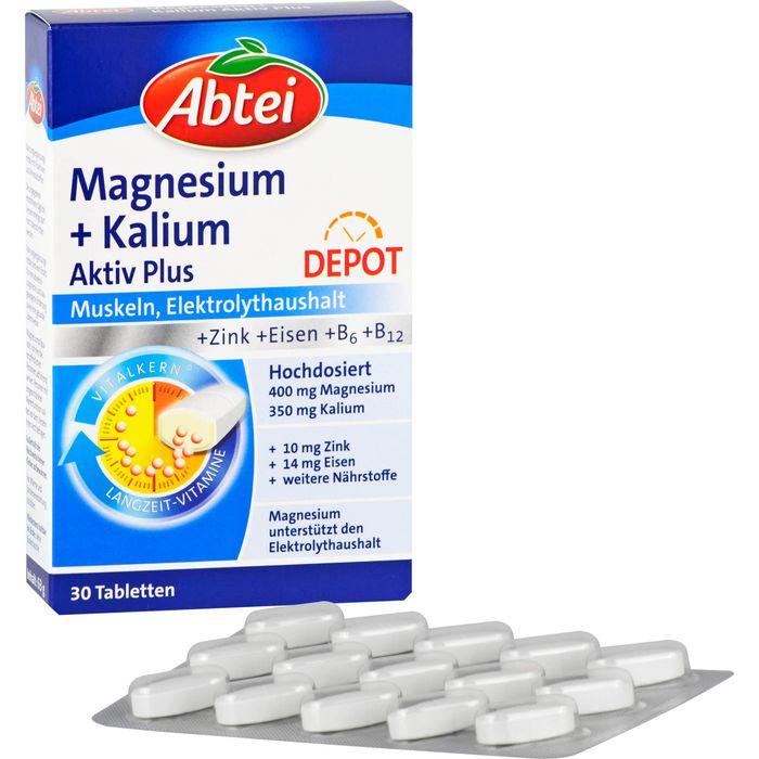ABTEI Magnesium+Kalium Depot Tabletten
