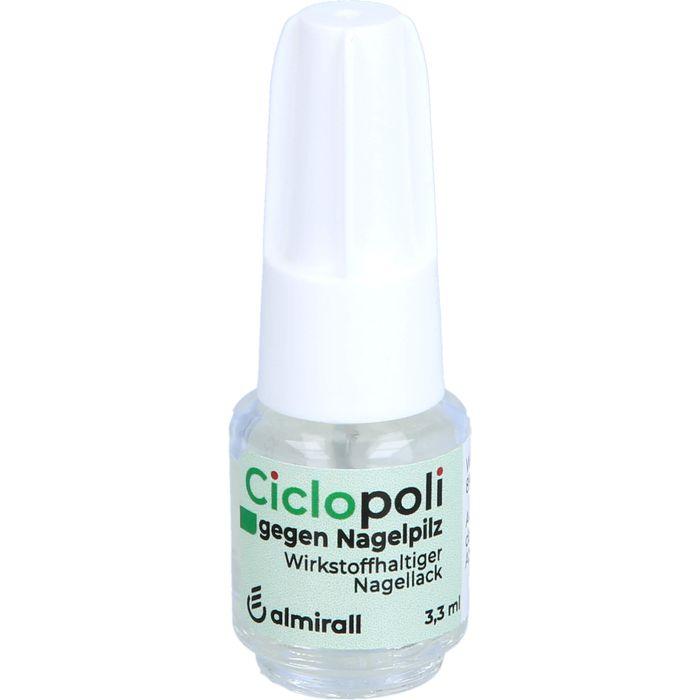 CICLOPOLI gegen Nagelpilz wirkstoffhalt.Nagellack
