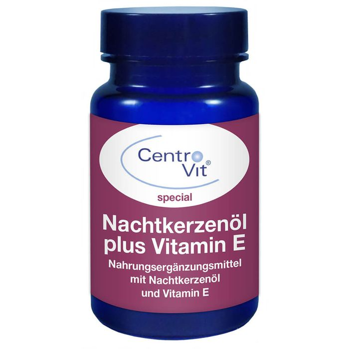 CENTROVIT special Nachtkerzenöl+Vitamin E Kapseln
