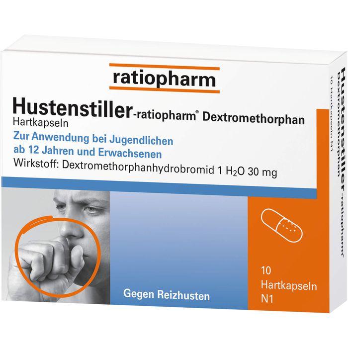 HUSTENSTILLER-ratiopharm Dextromethorphan Kapseln