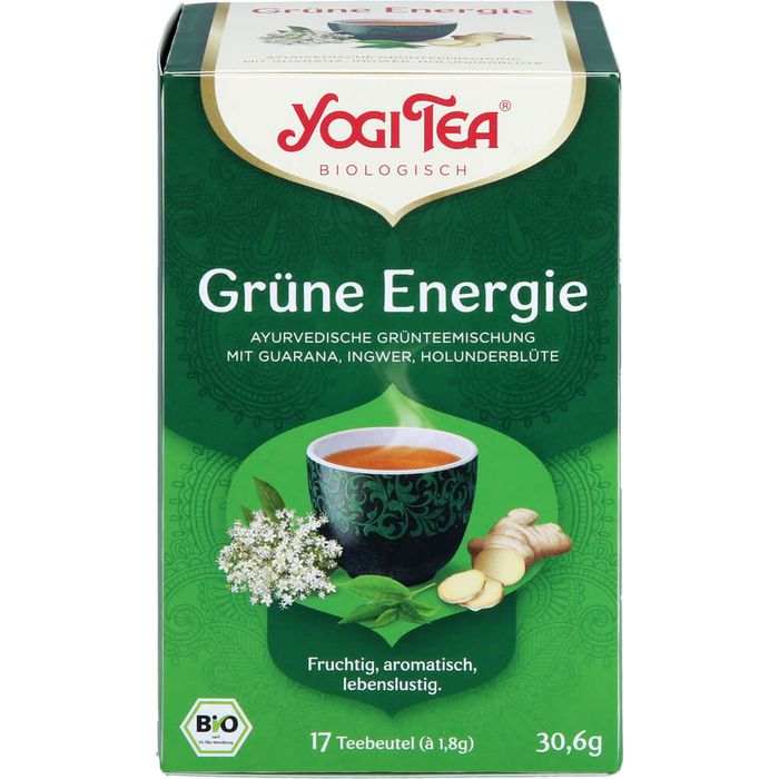 YOGI TEA Grüne Energie Bio