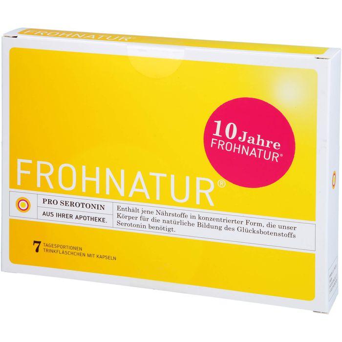 FROHNATUR Mood Tonic Trinkfläschen m.Kapseln
