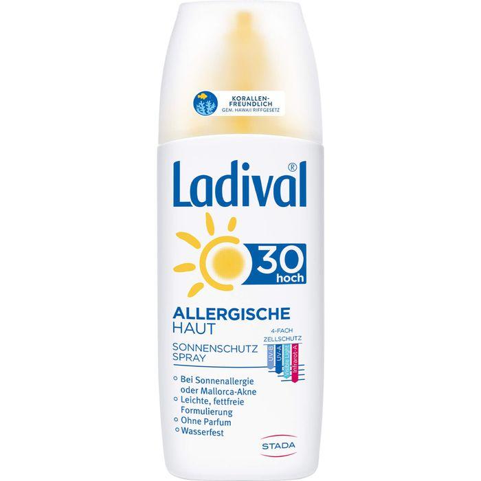 LADIVAL allergische Haut Spray LSF 30