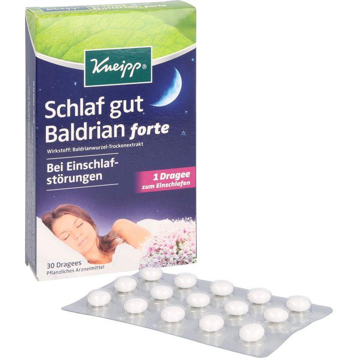 KNEIPP Schlaf gut Baldrian forte überz.Tabl.
