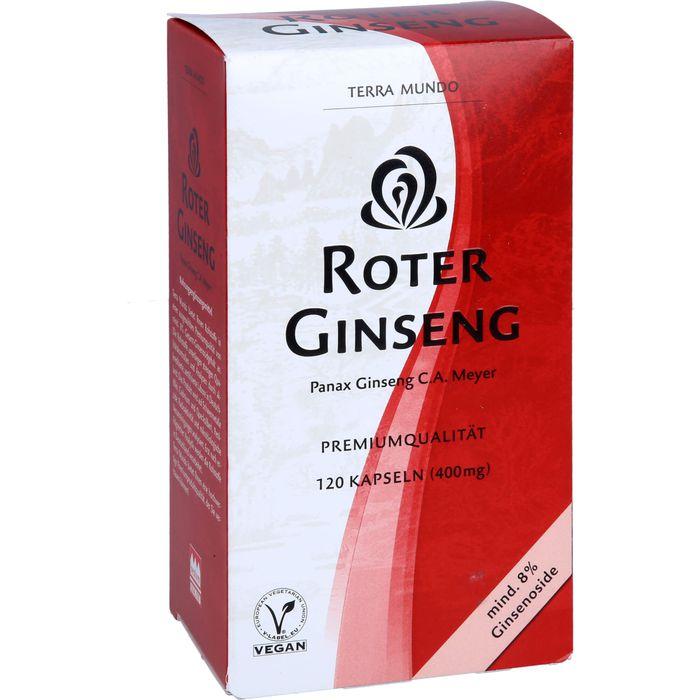 ROTER GINSENG 400 mg 8% von Terra Mundo Kapseln