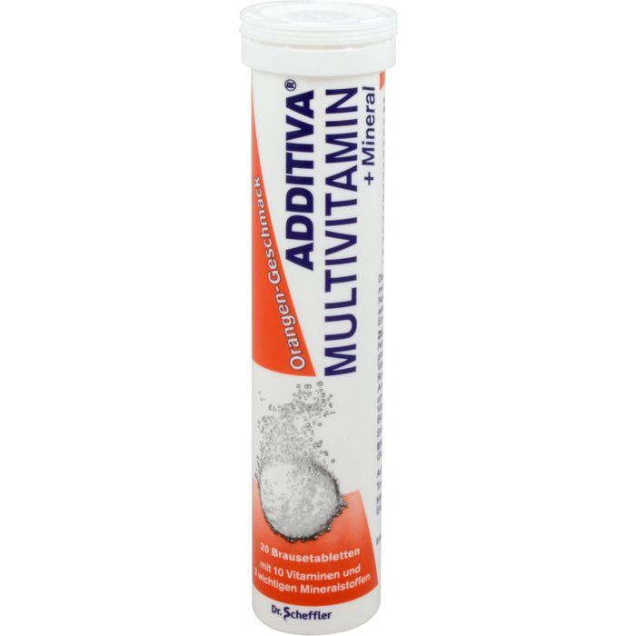 ADDITIVA Multivit.+Mineral Orange R Brausetabl.