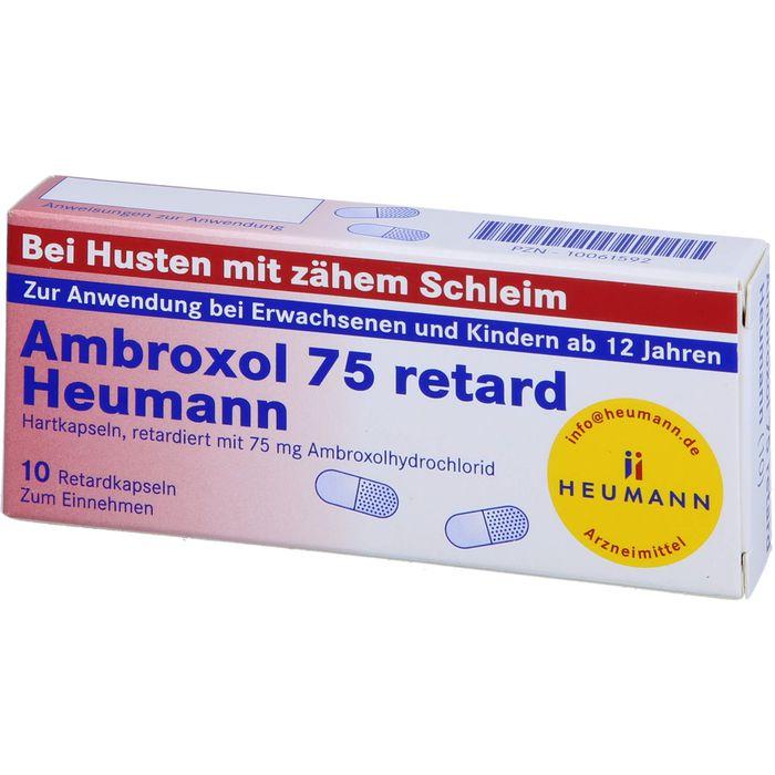 AMBROXOL 75 retard Heumann Kapseln