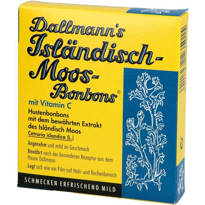 DALLMANN'S Isländisch Moos Bonbons