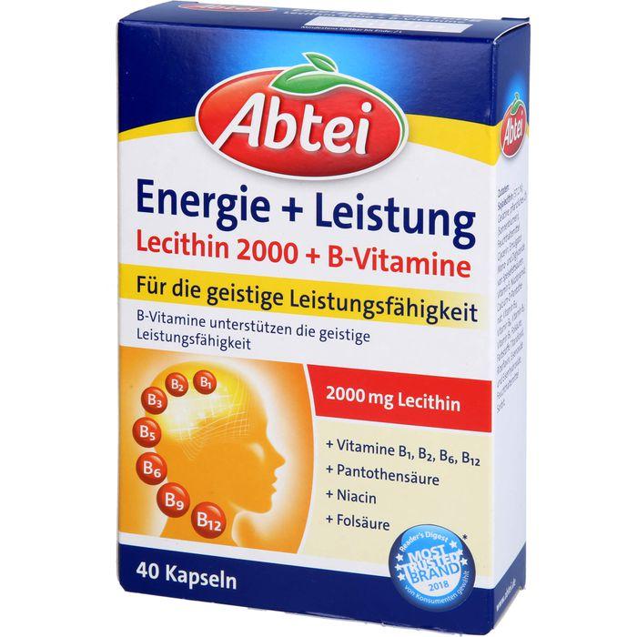 ABTEI Lecithin 2.000 Plus B-Vitamine Kapseln