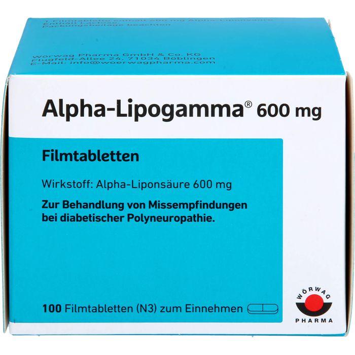 ALPHA-LIPOGAMMA 600 mg Filmtabletten