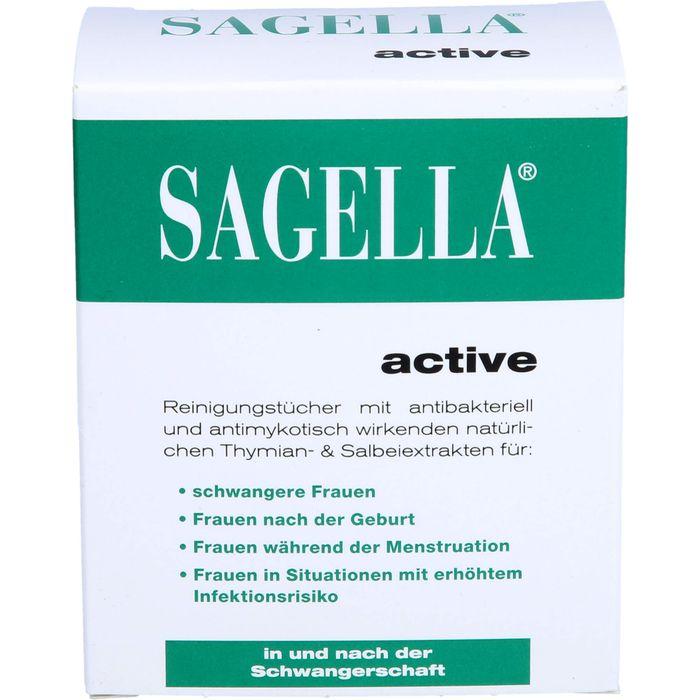 SAGELLA active Reinigungstücher