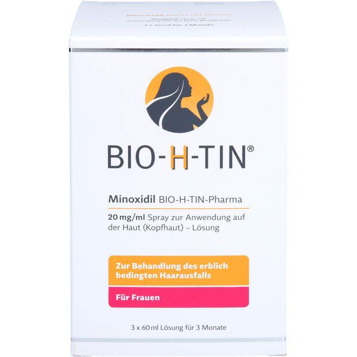 MINOXIDIL BIO-H-TIN Pharma 20 mg/ml Spray Lsg.