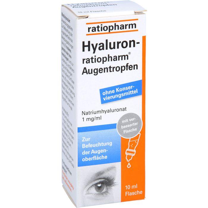 HYALURON-RATIOPHARM Augentropfen