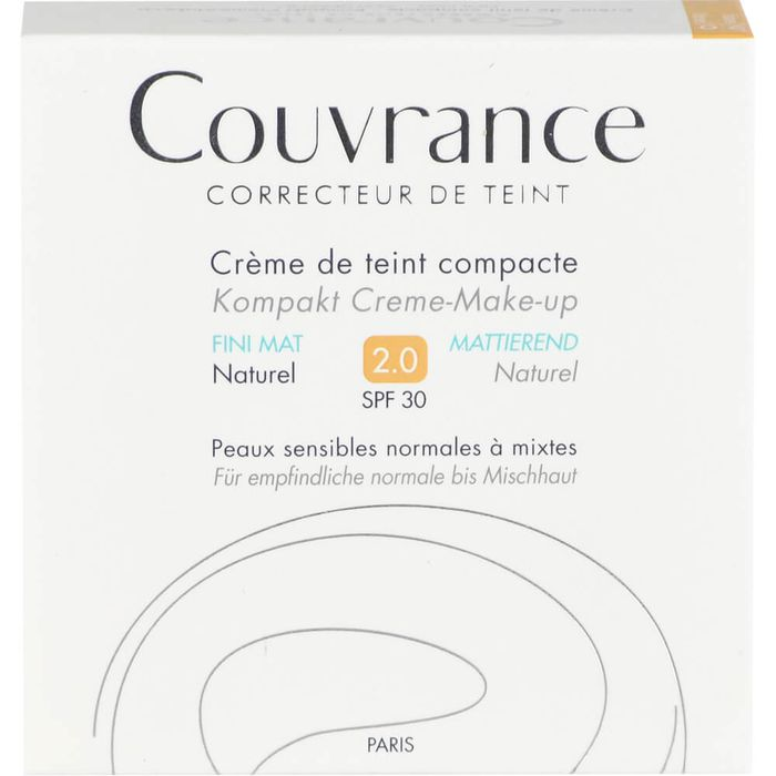 AVENE Couvrance Kompakt Cr.-Make-up mattierend naturel 02