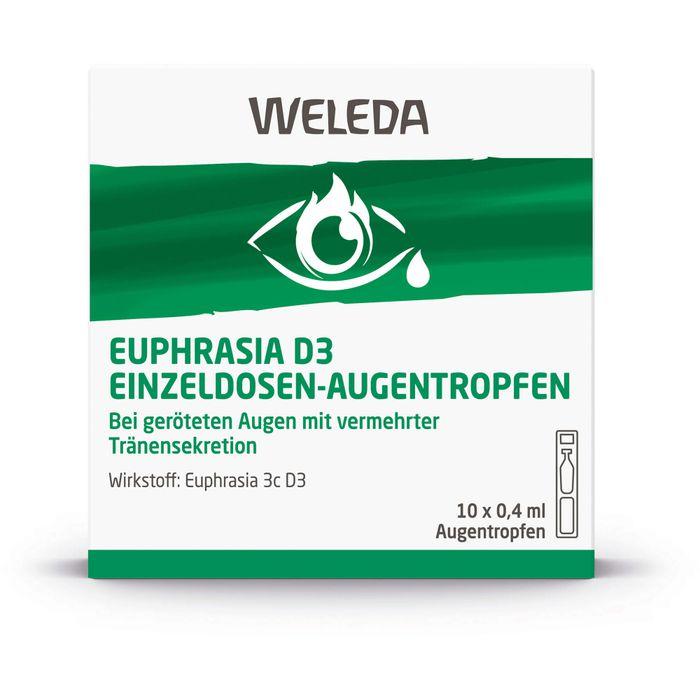 Weleda EUPHRASIA D 3 Einzeldosen-Augentropfen