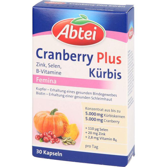 ABTEI Kürbis Plus Cranberry Kapseln