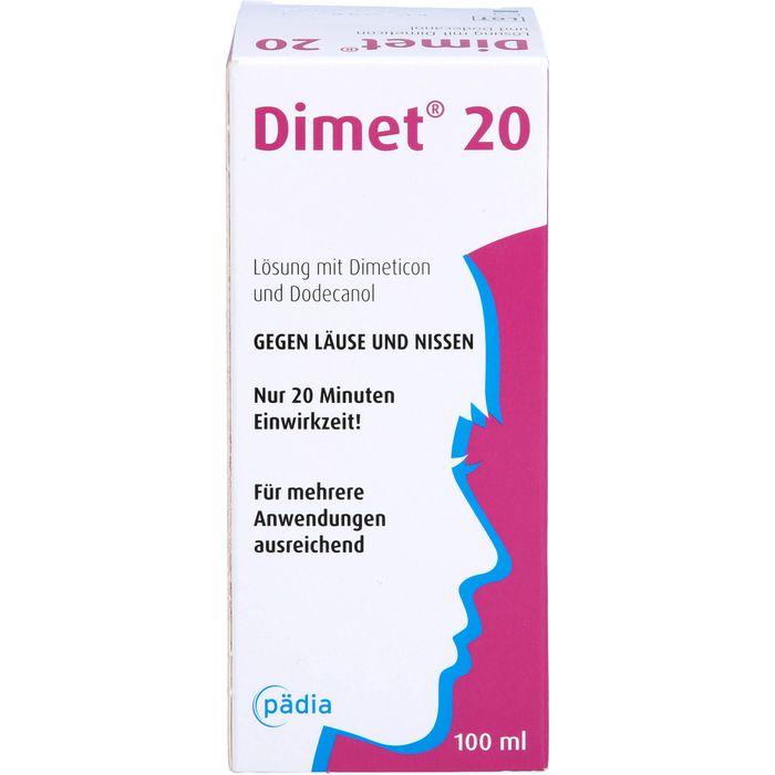 DIMET 20 Lösung