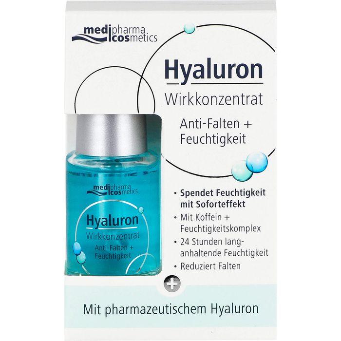 Medipharma Cosmetics HYALURON Wirkkonzentrat Anti-Falten+Feuchtigkeit