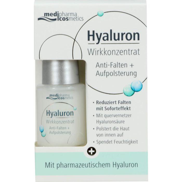 Medipharma Cosmetics HYALURON Wirkkonzentrat Anti-Falten+Aufpolsterung