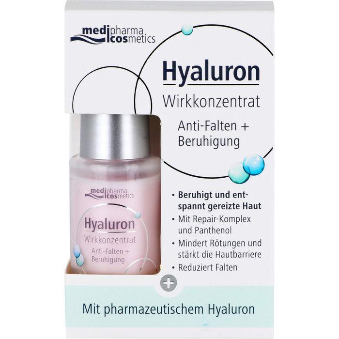 Medipharma Cosmetics HYALURON Wirkkonzentrat Anti-Falten+Beruhigung