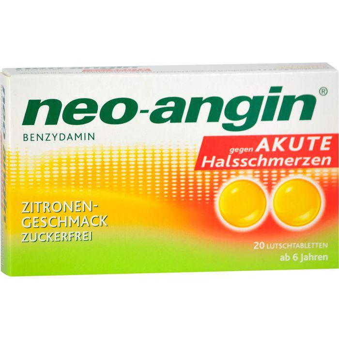 NEO-ANGIN Benzydamin akute Halsschmerzen Zitrone
