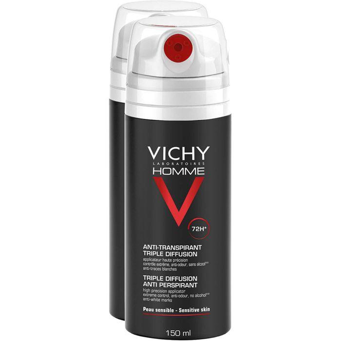 VICHY HOMME Deo Spray 72h Doppelpack