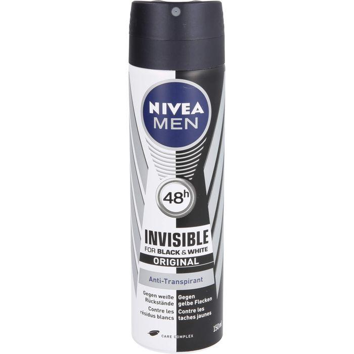NIVEA MEN Deo Spray invisible black & white power