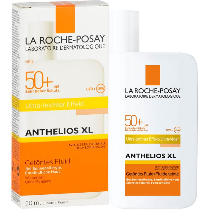 ROCHE-POSAY Anthelios XL LSF 50+ getöntes Fluid/R