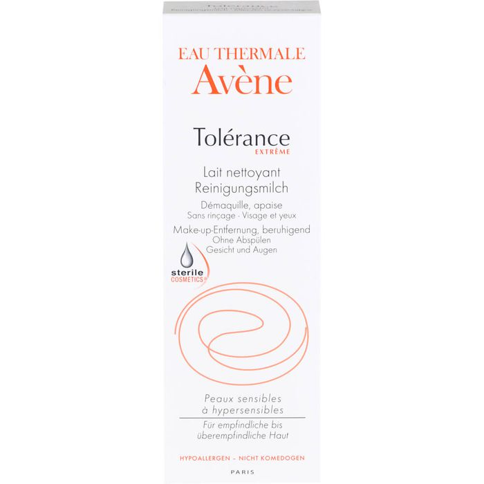 AVENE Tolerance Extreme Reinigungsmilch DEFI