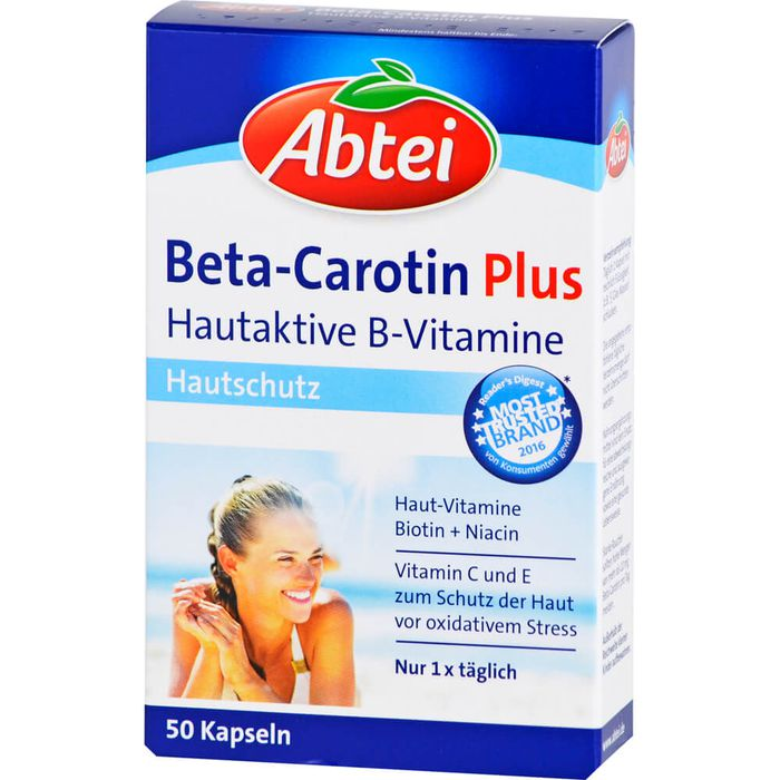 ABTEI Beta-Carotin Plus Hautaktive B-Vitamine Kps.