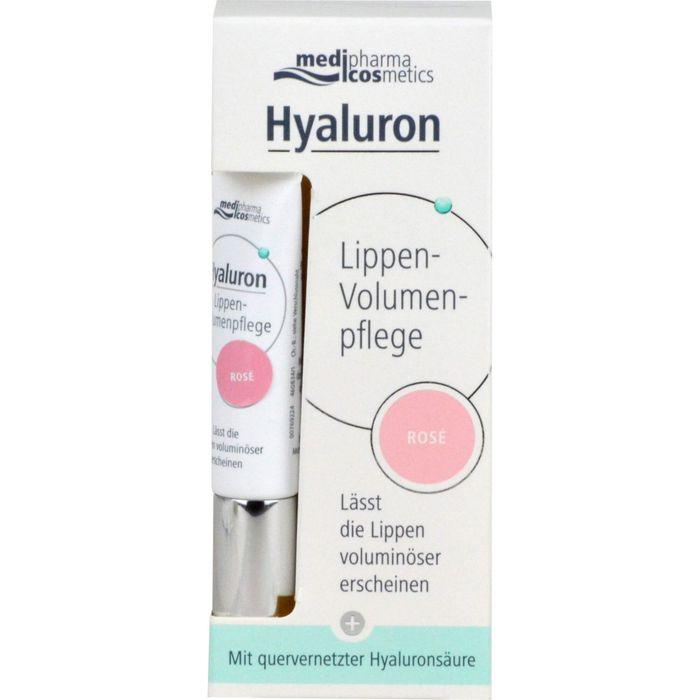 Medipharma Cosmetics HYALURON Lippen-Volumenpflege Balsam rose