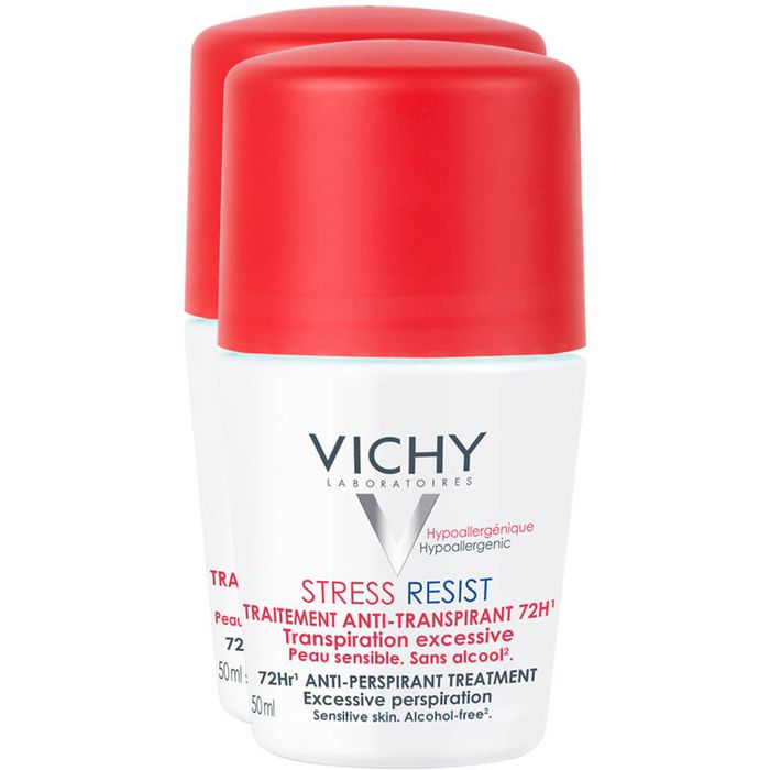 VICHY DEO Roll-on Stress Resist 72h Doppelpack