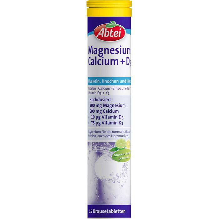 ABTEI Magnesium Calcium+D3 Brausetabletten